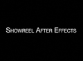 After Effects Showreel